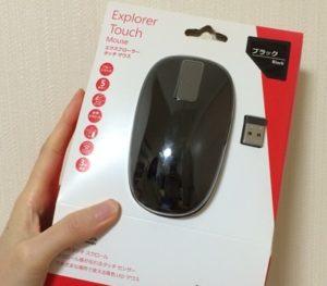 マイクロソフト タッチマウス