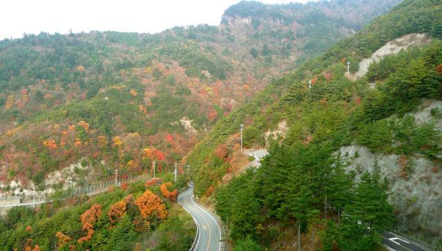 寒霞渓―頂上までドライブ