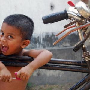 子供と自転車
