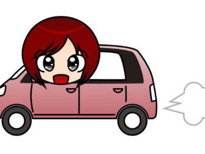 初心者の車の練習