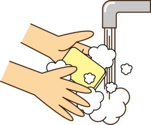こまめに手を洗おう