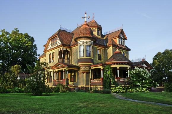 ビクトリア朝の家