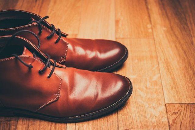 雨のあとの革靴の手入れ