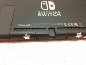 Switch本体の下側面